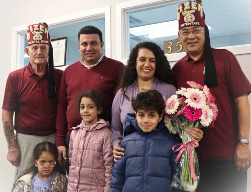A Shrine Family Visits Gizeh