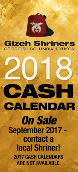 2018 Cash Calendar On Sale
