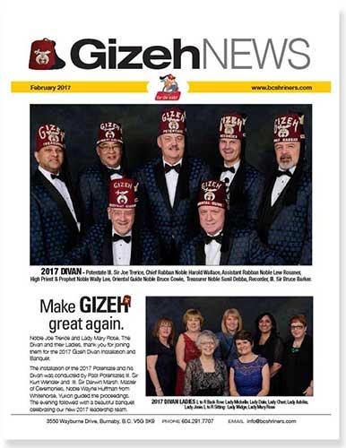 Gizeh News - April 2017