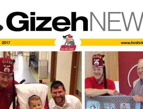 Gizeh News – November 2017
