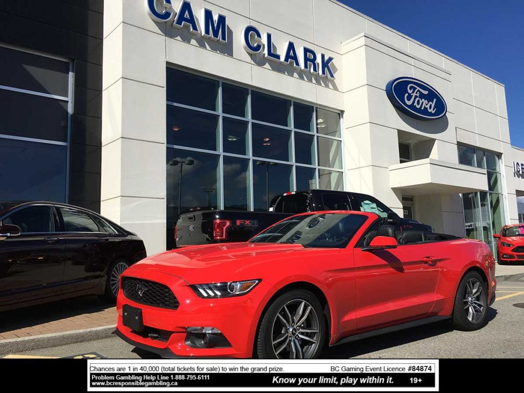 2016 Shriners' Draw for Kids - Ford Mustang