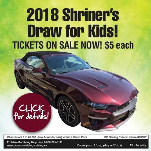 2018 Shriners Draw for Kids