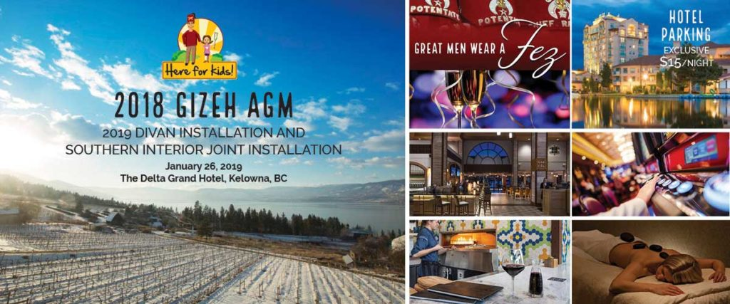 2018 AGM, Divan Installation Event Link