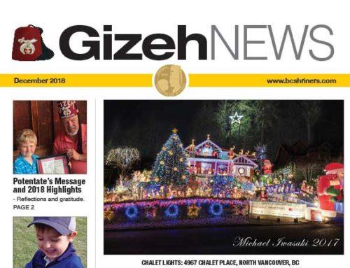 Gizeh News – December 2018