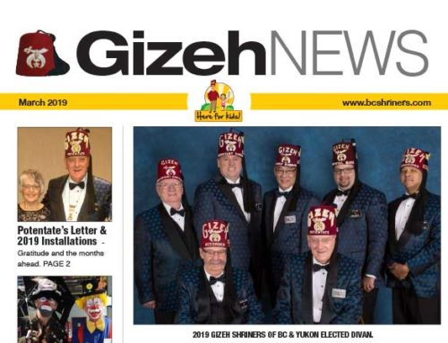 Gizeh News – March 2019