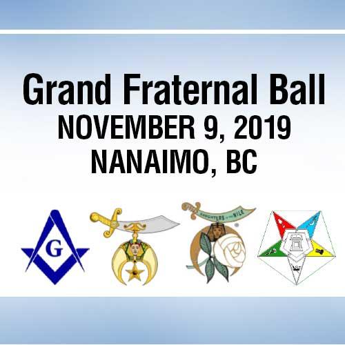 2019 Grand Fraternal Ball