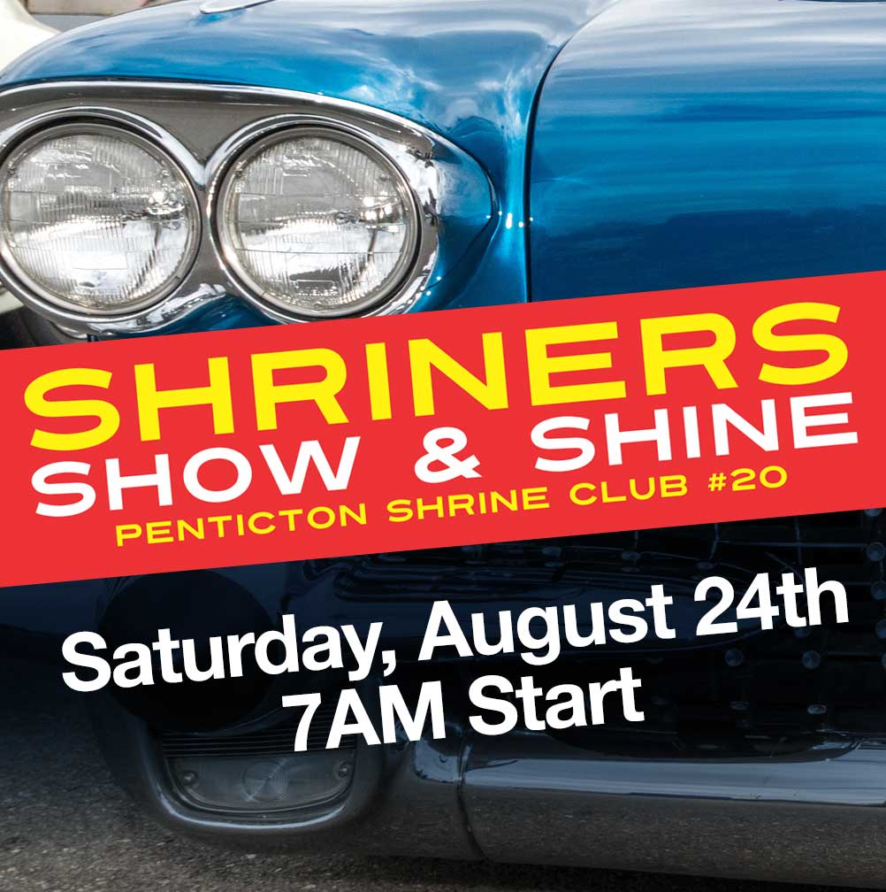 Penticton Shriners Show & Shine 2019