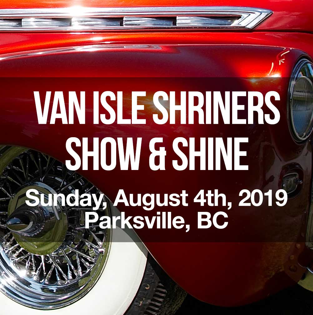 Van Isle Shriners Show & Shine 2019