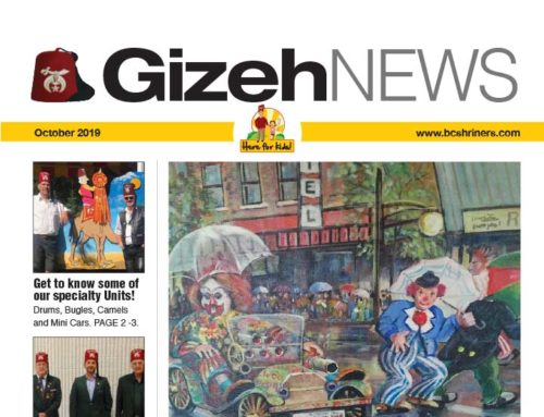 Gizeh News – October 2019