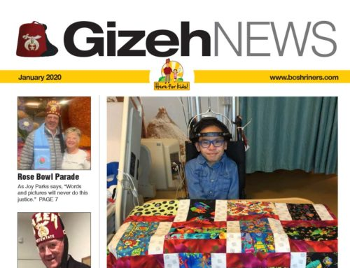 Gizeh News – January 2020