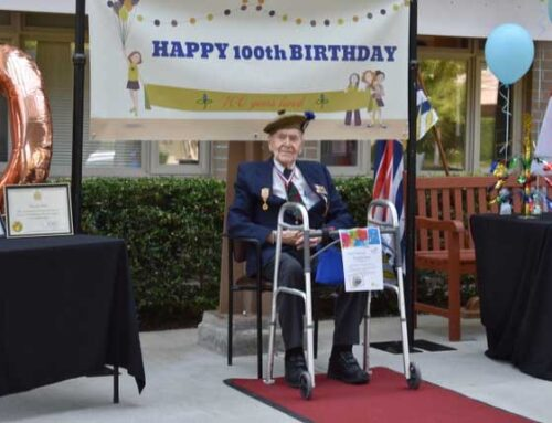 Happy 100th Birthday Noble Kenneth A. Smith