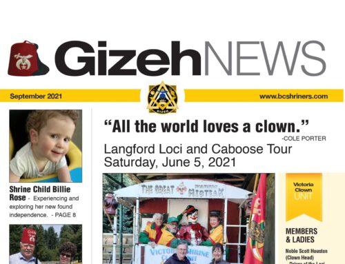 Gizeh News – September 2021